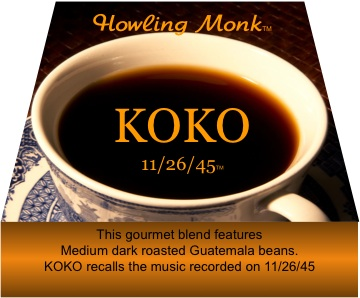 KOKO 11/26/45 Coffee - Ground - This gourmet blend features Medium dark roasted Gutatamla beans