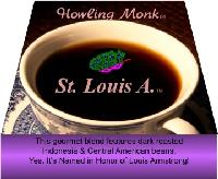 EL-A (fka: St. Louis A.) Coffee - Ground - This gourmet blend features dark roasted Indonesia & Central American beans.